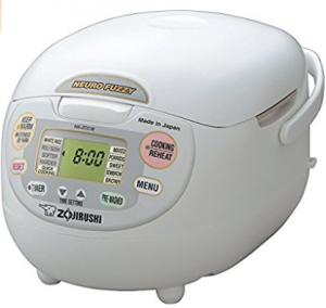 Zojirushi NS-ZCC18 10-Cup Neuro Fuzzy Rice Cooker, 1.8-Liters