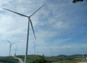 Wind Turbines in Khao Kho