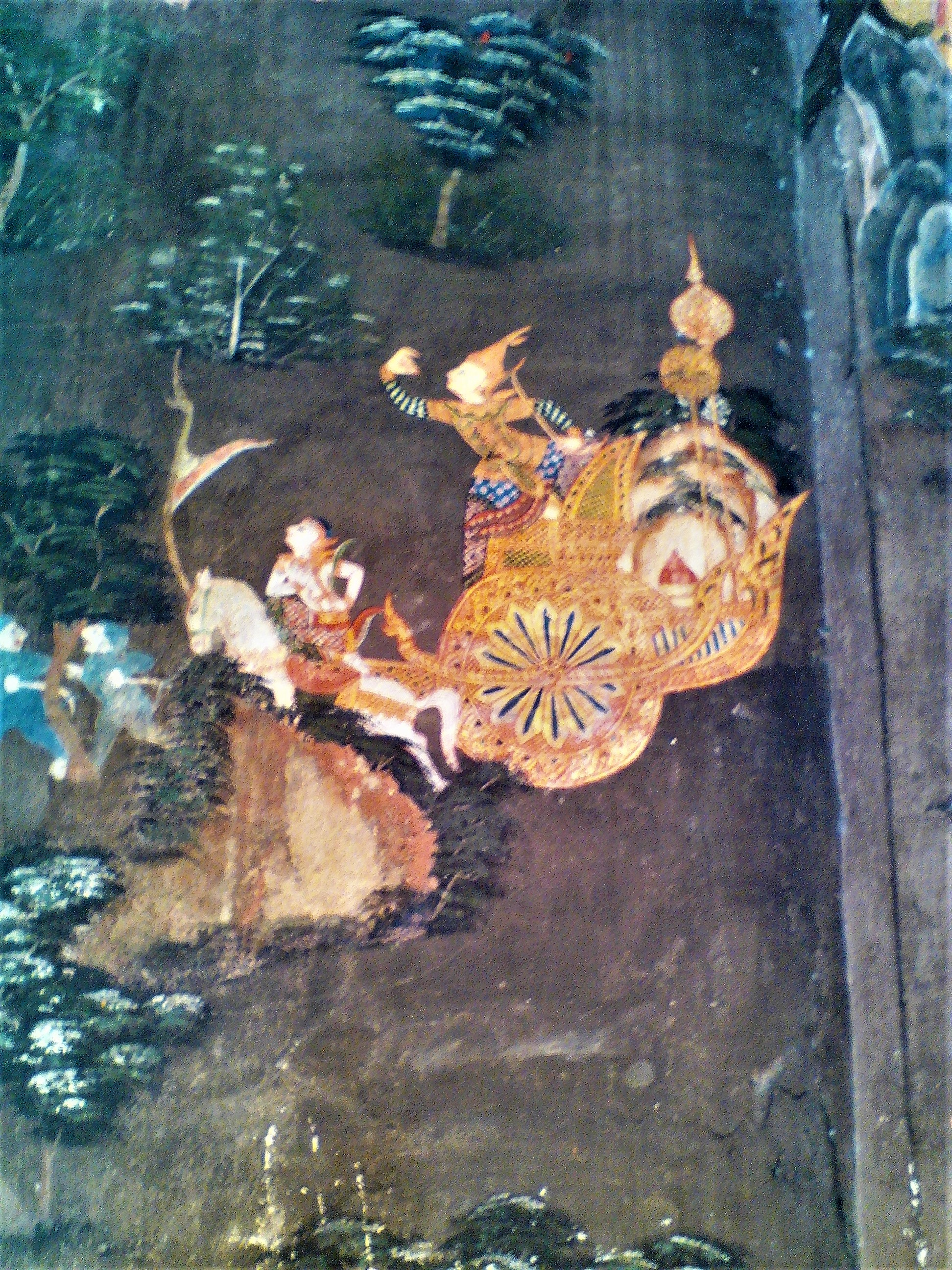 Antice temple decoration