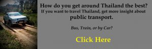 How to get around Thailand